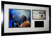 Michael Jackson Limited Edition Ticket Collage- Framed