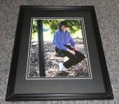 Michael Jackson on swing Framed 11x14 Photo Display