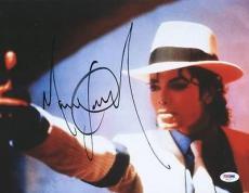 Michael Jackson Signed 10X13 Autographed PSA/DNA #V03277