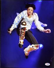 Michael Jackson Signed 11X14 Photo Autographed PSA/DNA #T01008