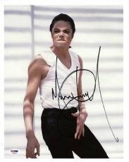 Michael Jackson Signed 11X14 Photo Autographed PSA/DNA #T08850