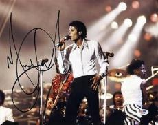 Michael Jackson Signed 11X14 Photo Autographed PSA/DNA #U14336
