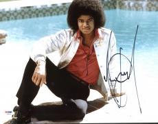 Michael Jackson Signed 11X14 Photo Autographed PSA/DNA #Y06733
