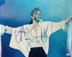 "Michael Jackson Signed 16"" x 20"" ***VERY VERY RARE*** PSA/DNA LOA"