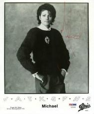 Michael Jackson Signed 8x10 Jackson 5 Photo Autographed Psa #v09668