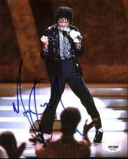 Michael Jackson Signed 8X10 Photo Autographed PSA/DNA #AB10686