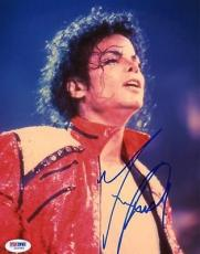 Michael Jackson Signed 8x10 Photo Autographed Psa/dna #i42991