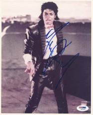 Michael Jackson Signed 8X10 Photo Autographed PSA/DNA #S02220
