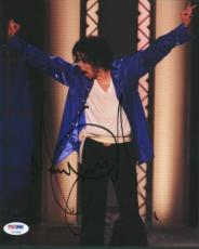 Michael Jackson Signed 8x10 Photo Autographed Psa/dna #u14356