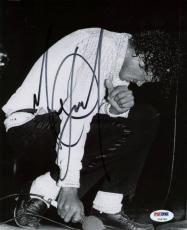Michael Jackson Signed 8x10 Photo Autographed Psa/dna #v09798