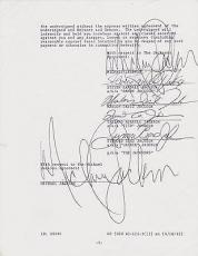 Michael Jackson Signed Autographed THRILLER CONTRACT! MUSIC HISTORY! PSA/DNA