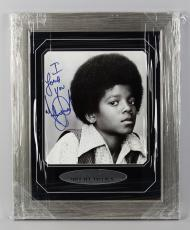 "Michael Jackson Signed, Inscribed ""I Love You"" 17×22 Photo Display -JSA Full LOA"