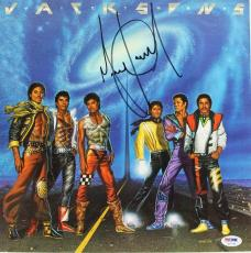 Michael Jackson The Jackson 5 Signed Album Cover Autographed Psa/dna #u04049