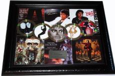 Michael Jackson Thriller Gold Platinum Record Award Display non-