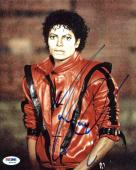 Michael Jackson Thriller Signed 8x10 Photo Autographed PSA/DNA #W00478