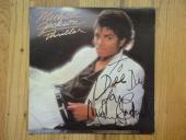 Michael Jackson Thriller Signed Album Psa/dna Certified Authentic Autograph Rare
