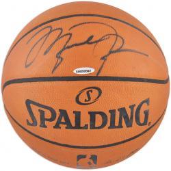 Chicago Bulls Michael Jordan Autographed Spalding Pro Leather Basketball