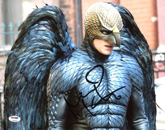 Signed Chris Andersen Photo - Michael Keaton Birdman 11X14 PSA DNA #Z90208