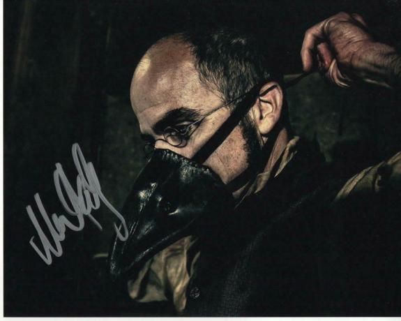 Michael Kelly Signed Autograph 8x10 Photo - Dr. Edgar Dumbarton Taboo, Bbc
