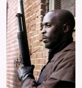 Michael Kenneth Williams The Wire Autographed Signed 11x14 Photo AFTAL UACC RD