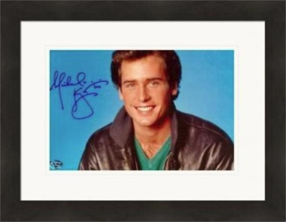 Michael Knight autographed 8x10 photo (All My Children) Matted & Framed