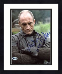 Michael McElhatton Game Of Thrones Signed 8X10 Photo BAS #B71964