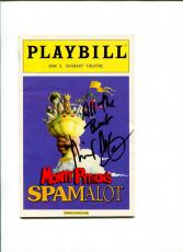 Michael McGrath Monty Python's Spamalot Tony Nominee Signed Autograph Playbill