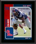 "Michael Oher Ole Miss Rebels 10.5"" x 13"" Sublimated Player Plaque"