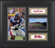 "Michael Oher Ole Miss Rebels Framed 15"" x 17"" Collage"