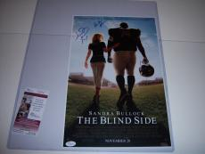 Michael Oher Autographed Picture - quinton Aaron the Blind Side Jsa coa 11x17 Movie Poster