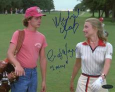 Michael O'Keefe & Cindy Morgan Autographed Caddyshack Movie 8x10 Photo
