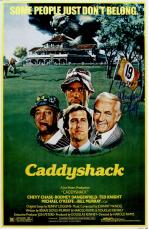 Michael O'Keefe Signed Caddyshack 11x17 Movie Poster w/Noonan