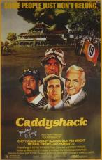 Autographed Michael O'Keefe Photo - Caddyshack Poster