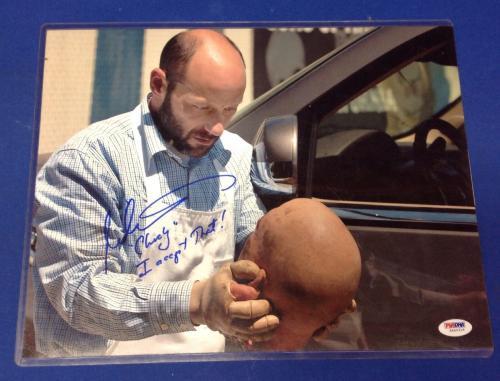Michael Ornstein SOA Chucky signed 11x14 Photo PSA/DNA #5A40316