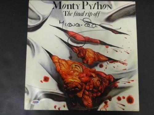 Michael Palin Signed Monty Python Record Sleeve Auto PSA/DNA AD10749