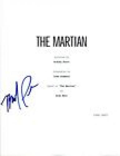 Michael Pena Signed Autographed THE MARTIAN Full Movie