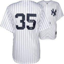 Michael Pineda New York Yankees Autographed Majestic Replica Pinstripe Jersey