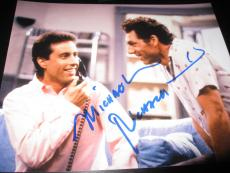 MICHAEL RICHARDS SIGNED AUTOGRAPH 8x10 SEINFELD PROMO IN PERSON COA RARE NYC G