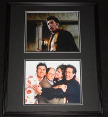 Michael Richards Signed Framed 16x20 Photo Set JSA Cosmo Kramer Seinfeld B