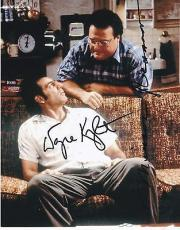 Michael Richards Wayne Knight Signed 8x10 Authentic Autograph Seinfeld Coa A