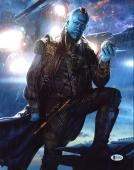 Michael Rooker Guardians of the Galaxy Signed 11x14 Photo BAS #C15424