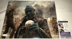 Michael Rooker Signed   Autographed Yondu 11 x 14 Photo - JSA Certified