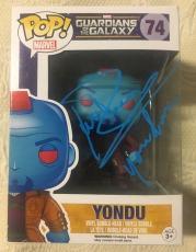 Michael Rooker Signed Autographed Yondu Funko Pop GUARDIANS  GALAXY PSA/DNA COA