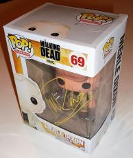 Michael Rooker signed The Walking Dead Funko pop w/coa Proof Merle Dixon #69