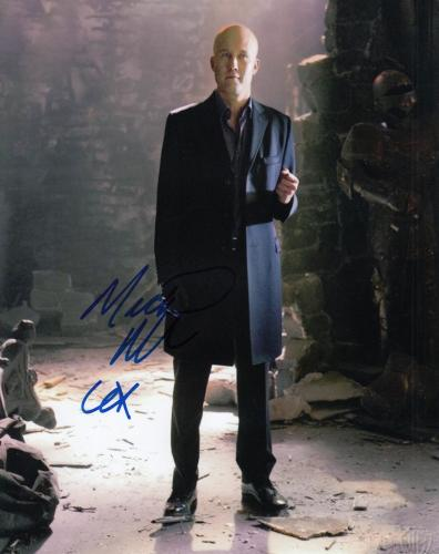 MICHAEL ROSENBAUM signed (SMALLVILLE) LEX LUTHOR 8X10 photo *SUPERMAN* W/COA #3