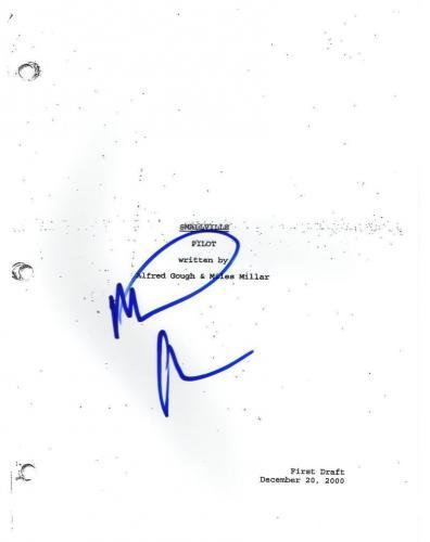 Michael Rosenbaum Signed Smallville Pilot Script Superman Authentic Autograph