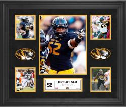 Michael Sam Missouri Tigers Framed 5-Photo Collage