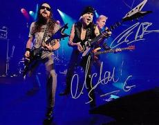 Michael Schenker and Francis Buchholz Signed 8x10 Photo w/COA The Scorpions