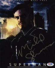 Michael Shannon Man of Steel Zod Autographed Signed 8x10 Photo Certified PSA/DNA