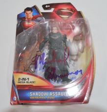 Michael Shannon Signed Movie Toy w/COA Proof General ZOD Superman #1